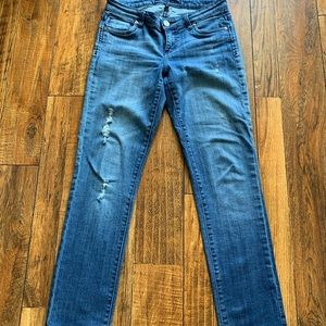 Kut from the Kloth distressed jeans 2
